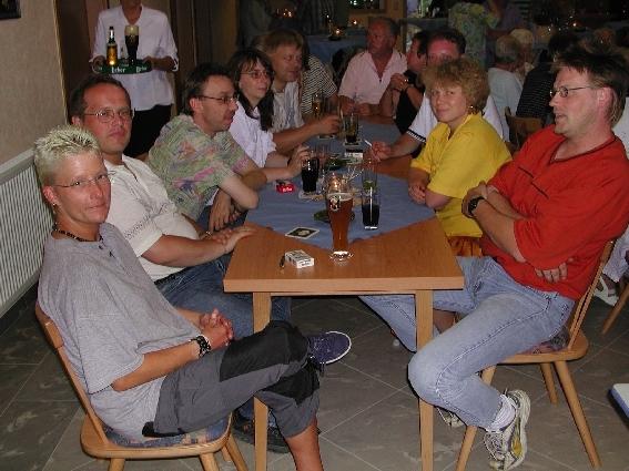 Die Freizeitklubs feierten auch mit