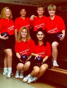 Das erfolgreiche Damen-Team (hinten: G.Schäfer, L.Listmann, M.Reubig, K.Sachs, vorne: A.Mayer, G.Ehrhard)