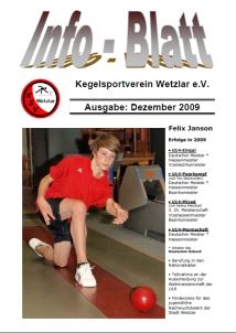 Infoblatt 12/2009